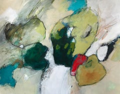 """""""Crypsis"""" - Nature-based Color Field Abstract Painting - Joan Mitchell"""