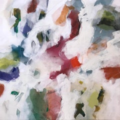 """Fast Funnels"" - Nature-based Color Field Abstract Painting - Joan Mitchell"