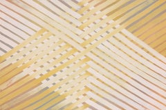 'Arise' - Geometric Abstract Painting - Anni Albers - Agnes Martin