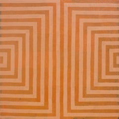 'Balance' - Geometric Abstract Painting - Anni Albers - Agnes Martin