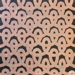 'Loop II' - Abstract Painting - Pattern - Anni Albers - Agnes Martin