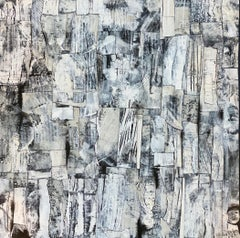 """""""Letters to the Editor"""" - Contemporary Abstract Collage - Nicolas de Staël"""