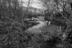 'The River Calls' - Black and White - Landscape Photography - Eliot Porter