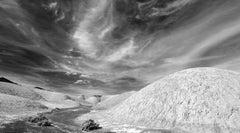 'Old Desert Road' - Black and White Photography - Landscape - Walker Evans