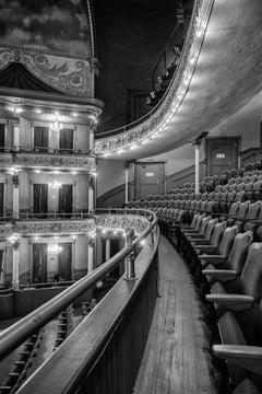 """Grand Opera House - Balcony & Box Seats"" - architectural photo - Ezra Stoller"