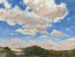 """Skyscape, Cumberland"" - Impressionist Plein Air Landscape Painting - Wyeth"