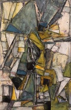 """Sense of Direction"" - Contemporary Abstract Collage - Nicolas de Staël"