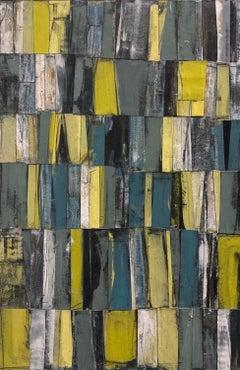 """Sense of Place"" - Contemporary Abstract Collage - Nicolas de Staël"