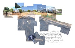 """The Senate Has Spoken"" - urban landscape - composite image - David Hockney"