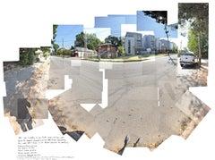 """Holocene"" - urban landscape photography - composite image - David Hockney"