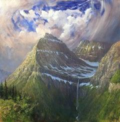 Distant Roar, Bird Woman Falls, Glacier National Park, Montana