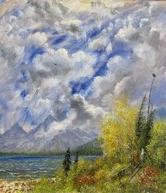 Autumn Eagles, St. Mary Lake, Glacier National Park, Montana