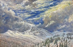 Granite Park Chalet in Winter, Glacier National Park, Montana
