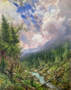 Wilderness Landscape, Glacier National Park, Montana