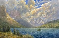 Choppy Water,  St. Mary Lake, Glacier National Park, Montana