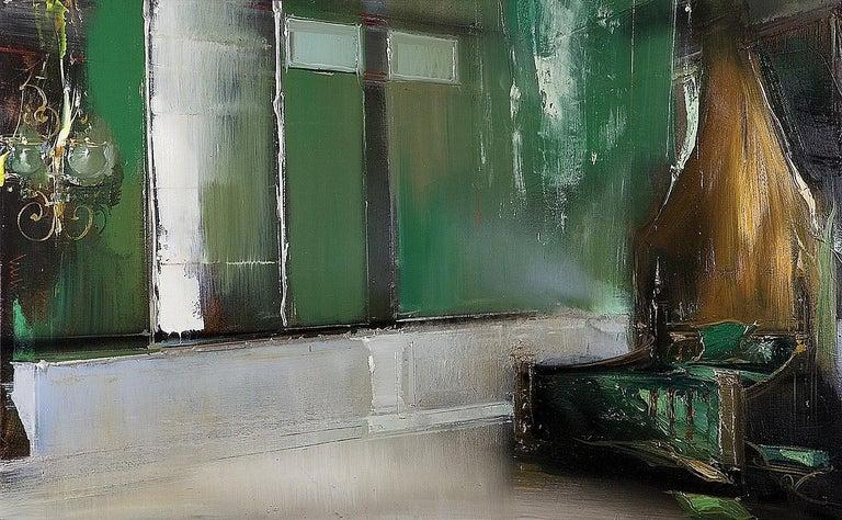 Jean Arcelin Interior Painting - La Chambre de Murat
