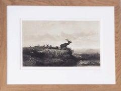Le matin : Cerf et Biches, 1858