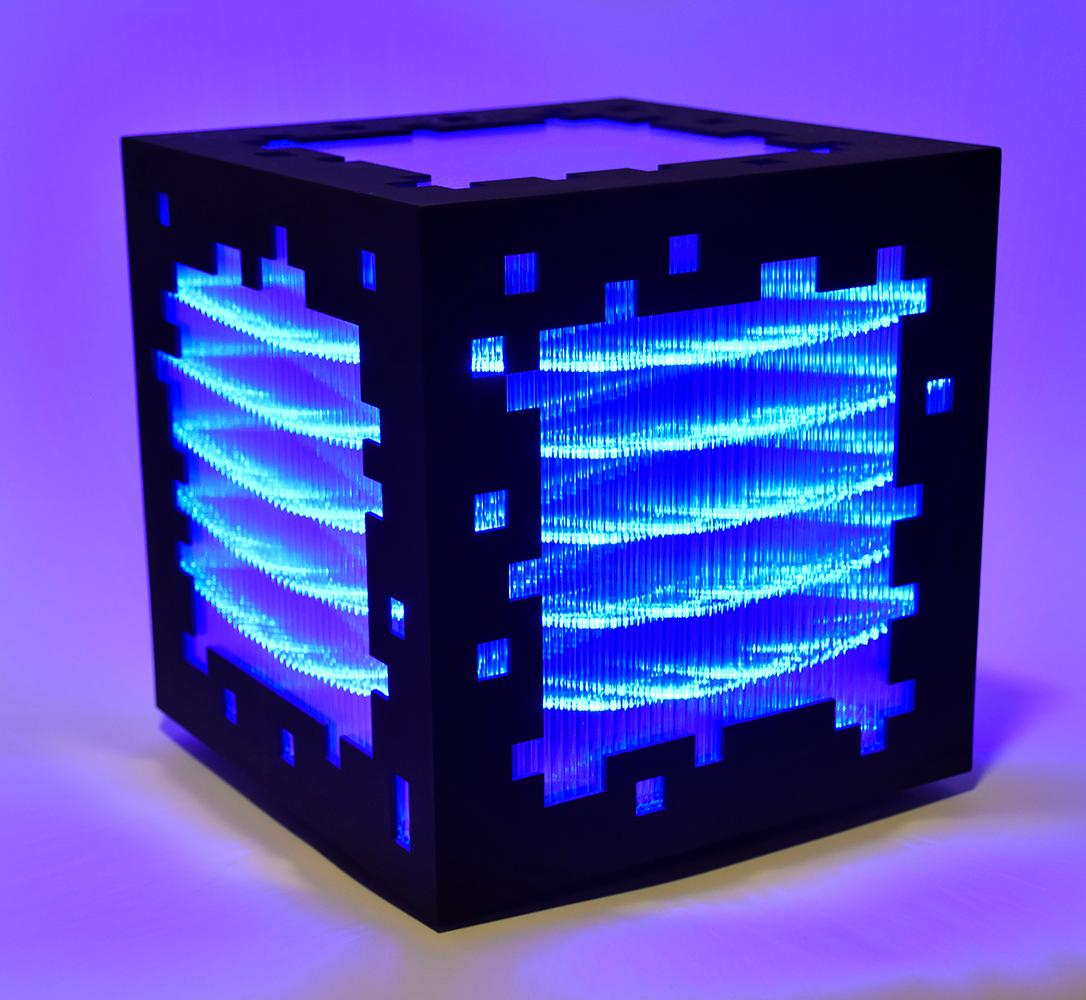 Mini voxels light blue