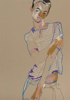 Pencil Figurative Drawings and Watercolours