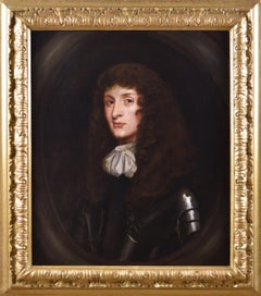 17th Century portrait oil painting of King James II as Duke of York