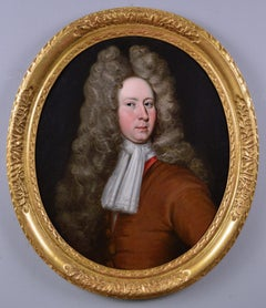 17th Century portrait oil painting of a gentleman