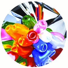 Coupe Plate Tulips -Jeff Koons, Contemporary, 21st Century, Porcelain, Tableware