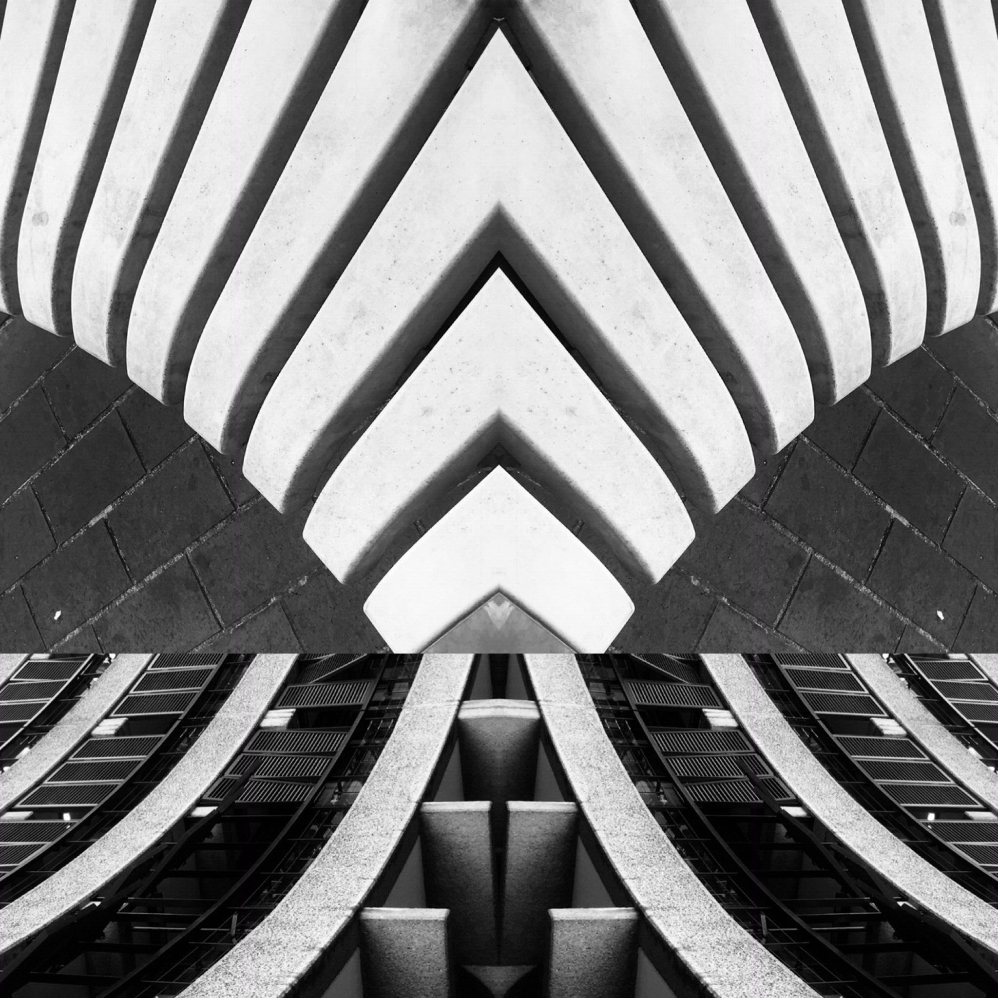 "Black & White Photography ""Brutalism -Barbican Centre, London No8"", 2019"