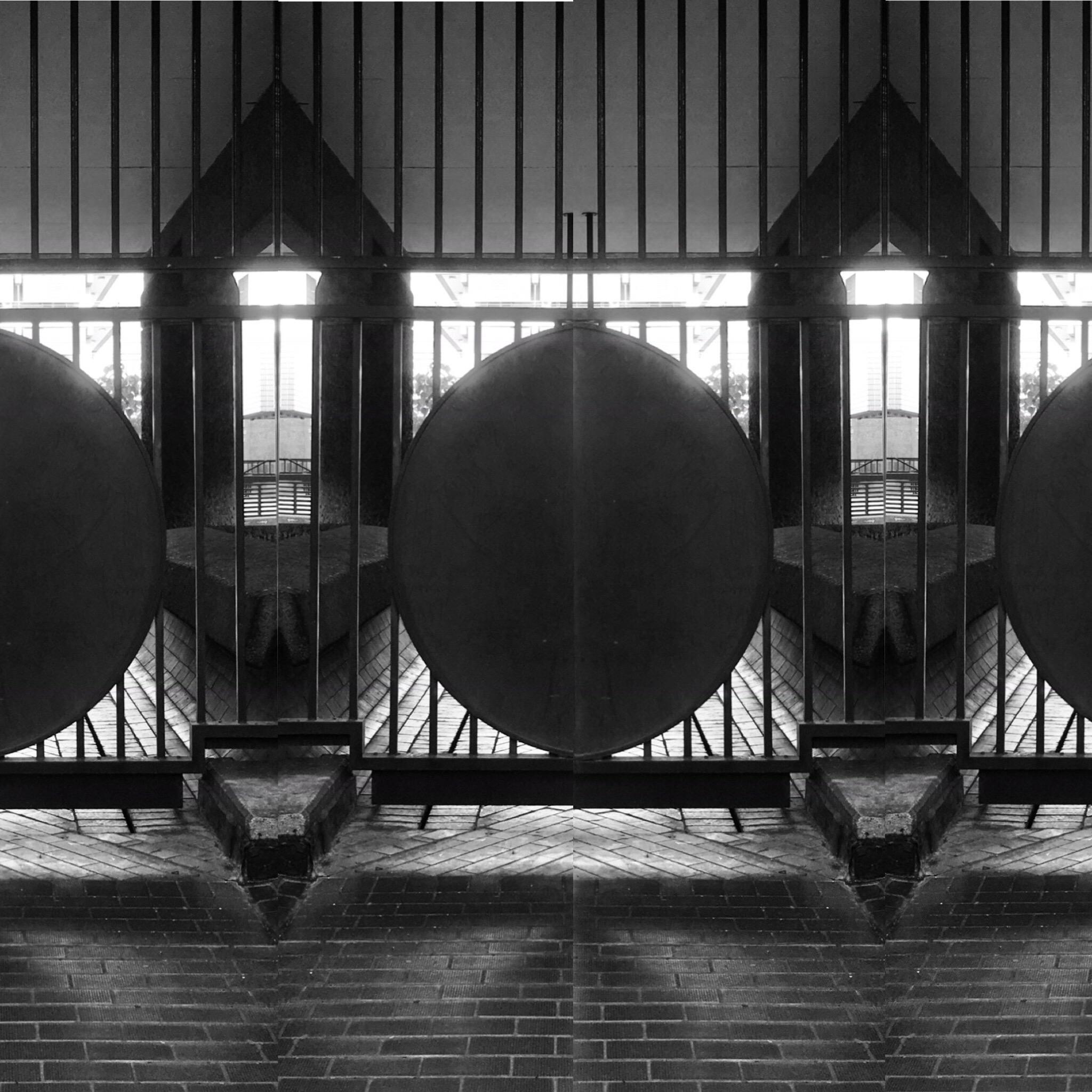 "Black & White Photography ""Brutalism -Barbican Centre, London No9"", 2019"