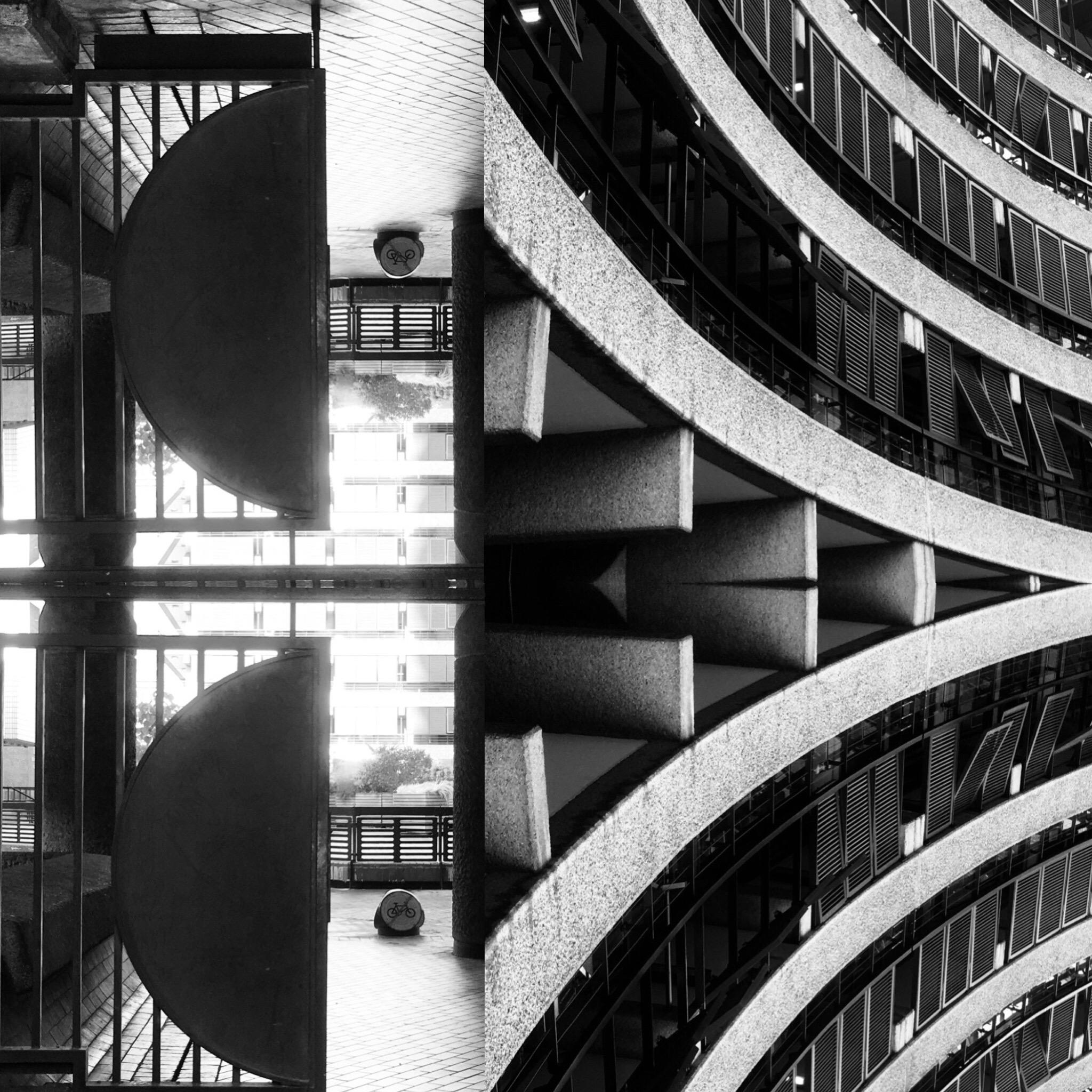 "Black & White Photography ""Brutalism -Barbican Centre, London No13"", 2019"