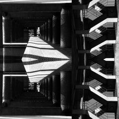 "Black & White Photography ""Brutalism -Barbican Centre, London No16"", 2019"
