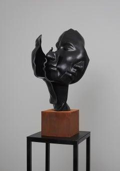 """Black Granite &Iron """"Faces No2"""", 2020"""