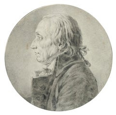 Portrait of an Revolutionary - Drawing from the School of Jacques-Louis David