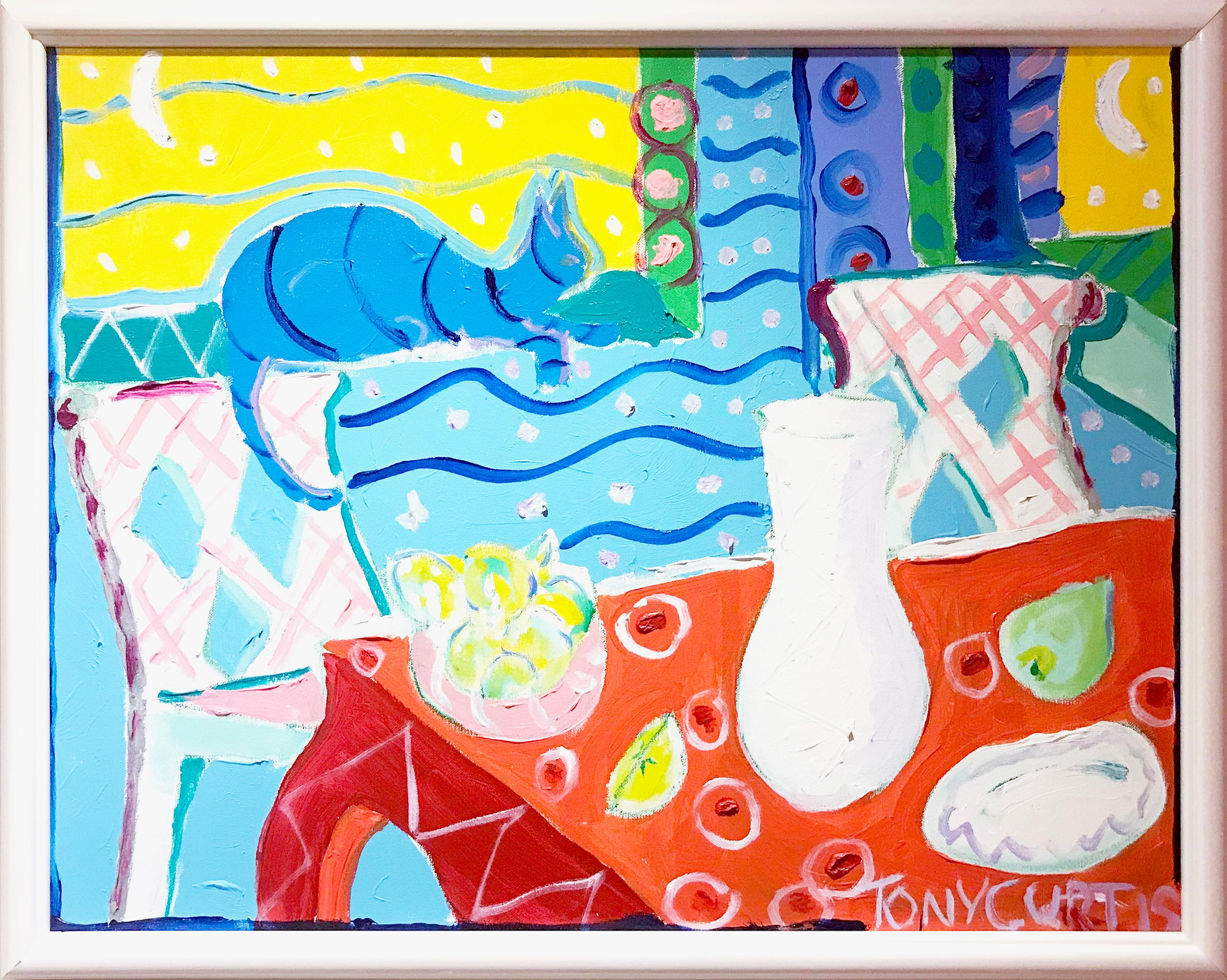 Tony Curtis - Homage To Matisse For Sale At 1stdibs