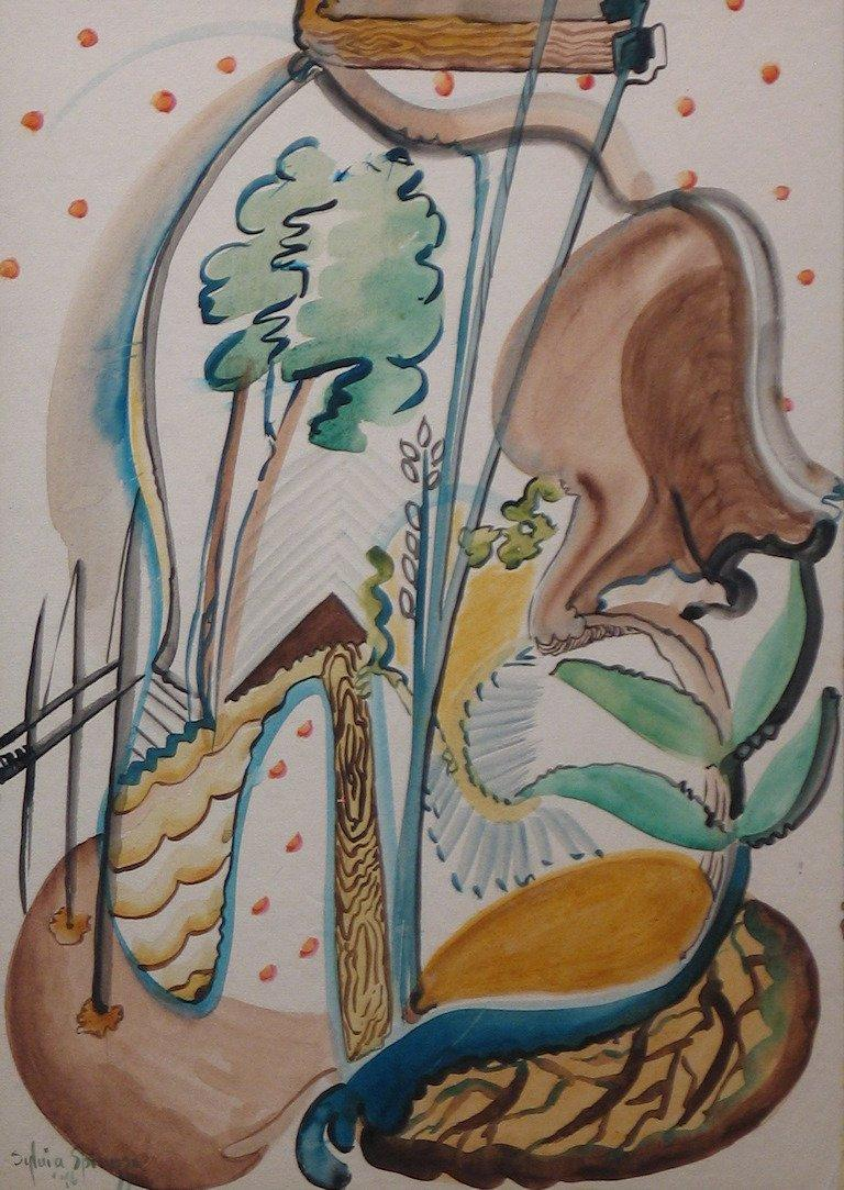 Sylvia Spicuzza Abstract Drawings and Watercolours
