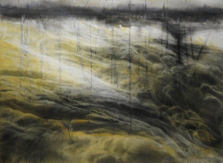 Judith Brandon Abstract Drawing - Stratus Twister