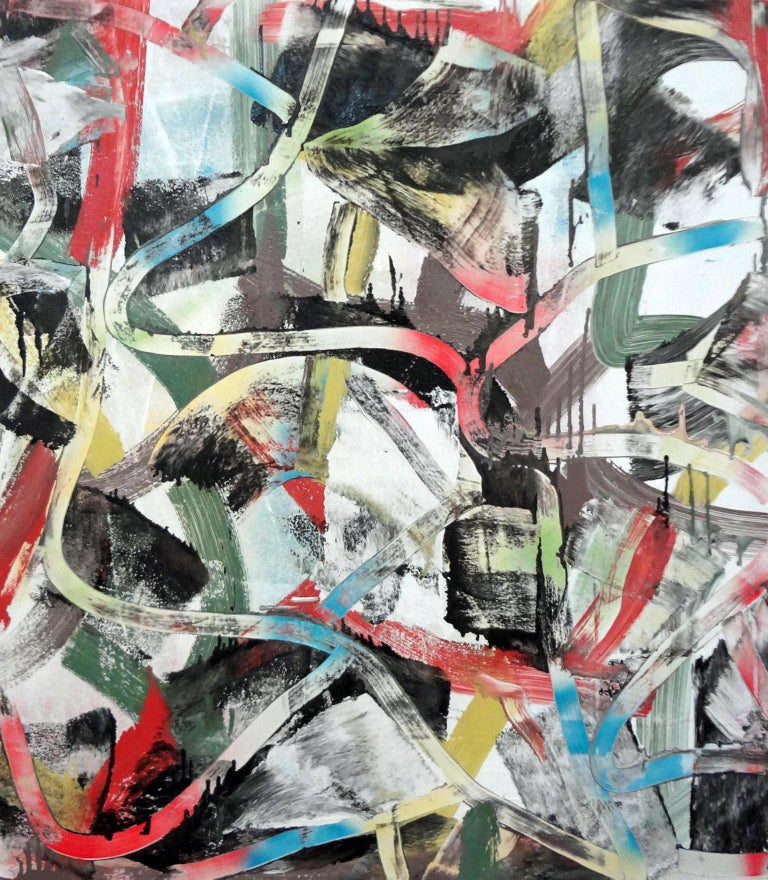 Matthew Dibble Abstract Painting - Alpha Shorthand