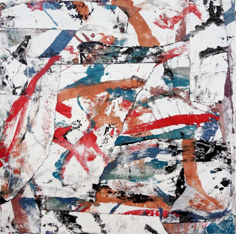 Matthew Dibble Abstract Painting - Valuable Scrap