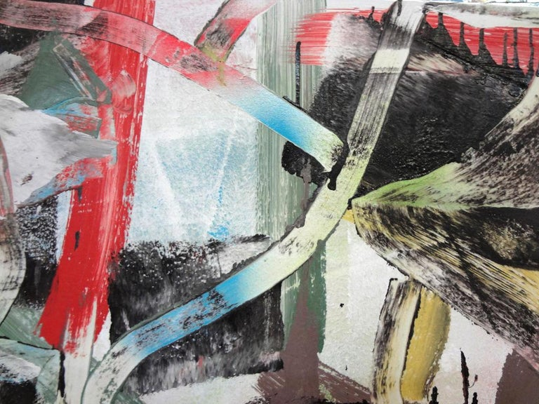 Alpha Shorthand - Painting by Matthew Dibble
