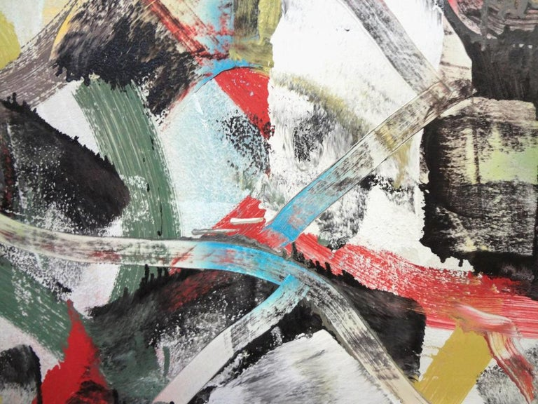 Alpha Shorthand - Abstract Painting by Matthew Dibble