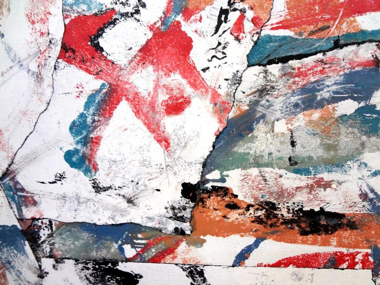 Valuable Scrap - Abstract Painting by Matthew Dibble