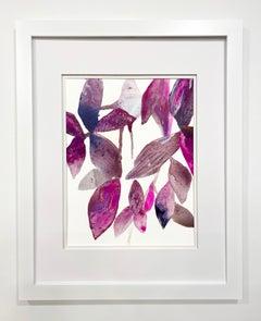 Framed Botanical Watercolor by Rachel Kohn - Plant Puddle #2