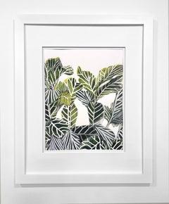 Framed Botanical Watercolor by Rachel Kohn - Plant Life 4