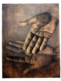 Isia Leviant - Hands - Signed Lithograph