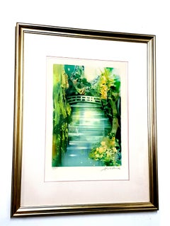 Camille Hilaire - Nature - Signed Original Lithograph
