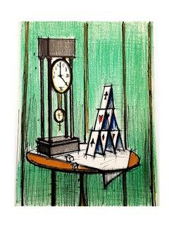 Bernard Buffet - Lithograph by Charles Sorlier