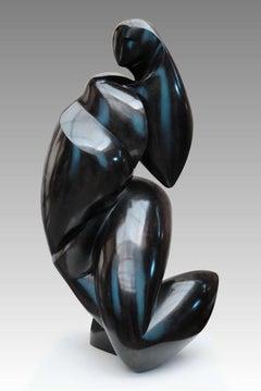 Pollès - Bronze Sculpture - Zinzolibdène
