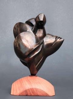Pollès - Bronze Sculpture - Thelxinoé