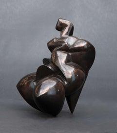 Pollès - Bronze Sculpture - Oxynamide