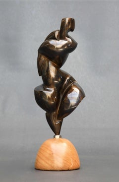 Pollès - Bronze Sculpture - Ahlem
