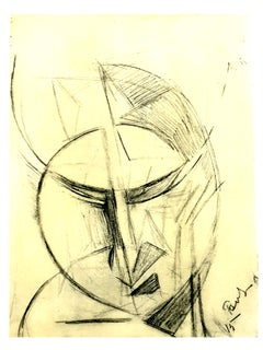 (after) Antoine Pevsner - Face of a Man - Lithograph